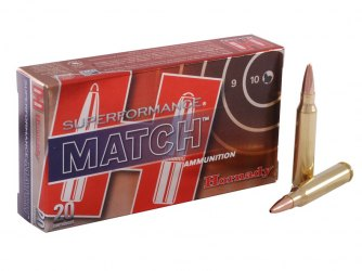 Hornady .223 Rem 75gr Hollow Point Boat Tail Match